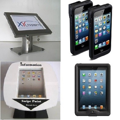 London Web - Protective iPad cases, enclosures and laser